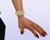Gold Left Bracelet