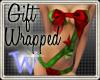 *W* Christmas Gift Wrap