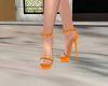 Elegant Orange Heels