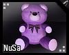 Purple Teddybear