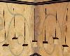 Brown Hanging Lanterns