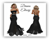Diana Ebony Gown