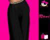 RR : Hers : Pants Black