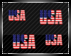 Floating USA Particles