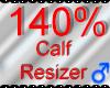 *M* Calf Resizer 140%