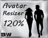 Avi Scaler Resizer 120%