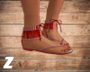 ~Z~ Lilou Sandals Red
