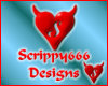 Scrippy666design sticker