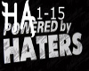 Powered by haters