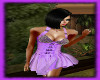 Purple Dress w Spikes