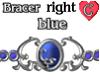 Bracer1 Blue RIGHT