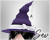 *S Galaxy Witch Hat