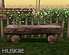 HK`Wood bench