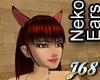 J68 Neko Ears Red