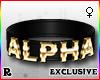 ☢! Alpha Collar Gold