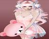 Pink Doll Big Teddy Bear Girls