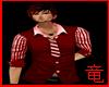 [竜]Red dress shirt