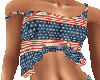 Star Spangled Crop Top