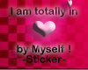 I am totally in <3 by ..