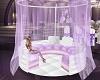 lilac wedding tent