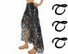 TTT Long SpiderWeb Skirt