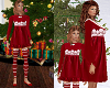 TF* KID Red Velvet Dress