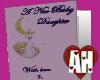 [AH] Baby Girl Card