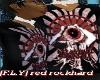 [F.L.Y] Red rockhard tee