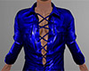 Blue Leather Shirt 2 (M)