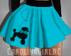 RLL 50s Poodle Skirt