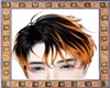 Orange & Black Hairstyle