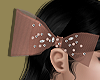 Brown Bow Headdress