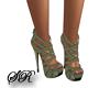 V4 Olive Heels