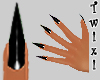 ! Claws -nails- black