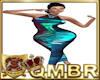 QMBR L- Teal Shimmer