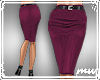 !Pencil Skirt Deep pink