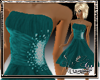 [L] BELLE TEAL GOWN