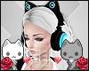 A| Neon Cat Headphones