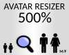 avatar resizer 500%