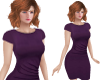 TF* Modest Plum Dress