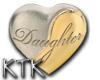 Daughter pendant