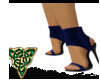 Blue Sock Heels