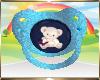 Kids Blue Bear Pacifier