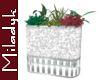 MLK Silver Planter