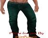 dark green jeans