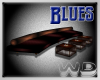 (W) Blues Club Couch