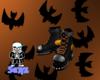 Halloween Pumpkin Boots