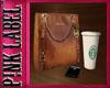 MK purse w/Iphone&Cup