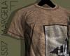 Distressed T Shirt