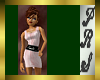 (PRS)SDPink Stripe Dress
